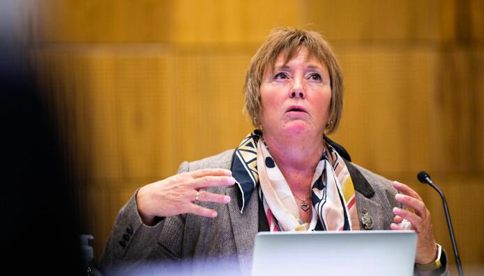 Kristin Melum Eide var ikke enig i den visjonen Strömme skisserte for universitetet.