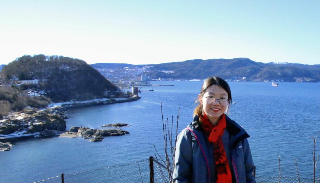 Fei Song har studert Industriell økologi i snart to år. Planen er å ta en doktorgrad ved NTNU.
