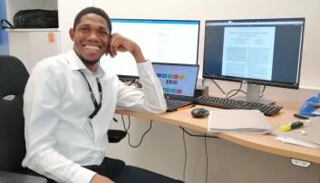 Livinus Obiora Nweke vil søke jobb i Norge etter at han er ferdig med doktorgraden.