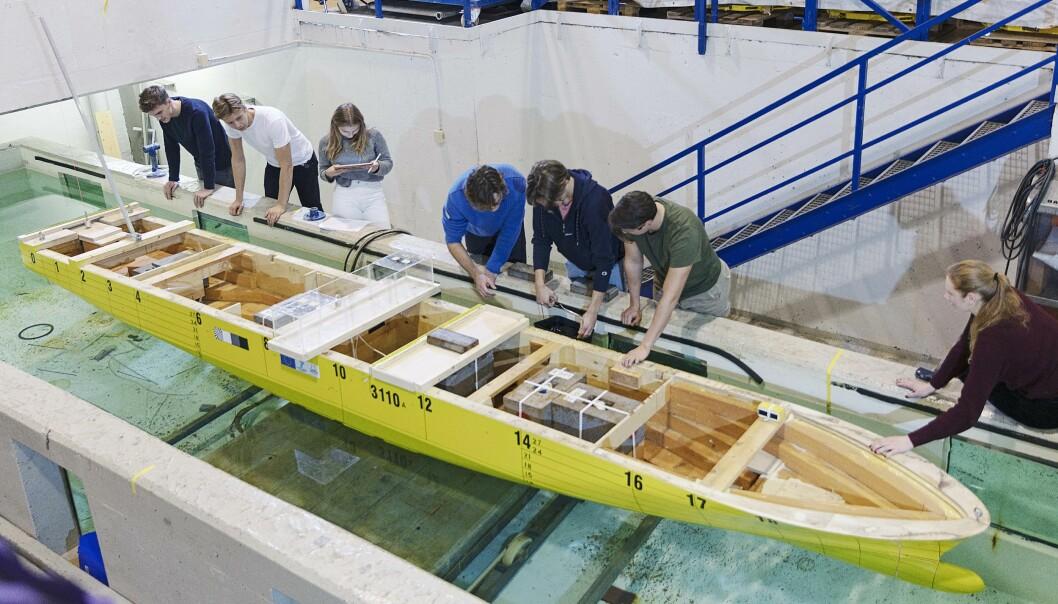 Illustrasjonsfoto fra Institutt for marin teknikk på Tyholt. Forfatterne av innlegget mener nærhet mellom fagmiljøet i Sintef Ocean og NTNU er viktig.