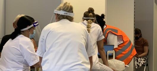 Starter student-vaksinering i uke 36