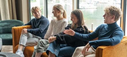 Fire NTNU-studenter har som sommerjobb å drive innovasjon i småkommune: - Litt som EiT