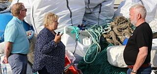 Statsministeren lærte om skadene ved plast i havet