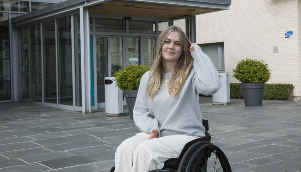Som rullestolbruker må Maren S. Romundstad håndtere problemer andre ikke støter på når de flytter til et nytt studiested.