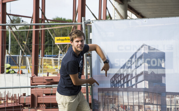 Nytt studenthus i Ålesund får takterrasse og 84 boliger