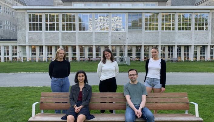 FN-studentenes styre i Trondheim på NTNU.
