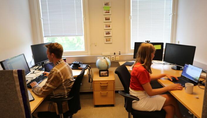 Studentrepresentantene i NTNU-styret deler kontorlokale med resten av studentdemokratiet.