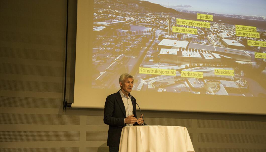 Håper at også bygningsmassen til Ocean Space Centre havner i NTNUs eie: - Vi har flere tiårs erfaring med at det har fungert godt, sa Olav Bolland til NTNUs styre.
