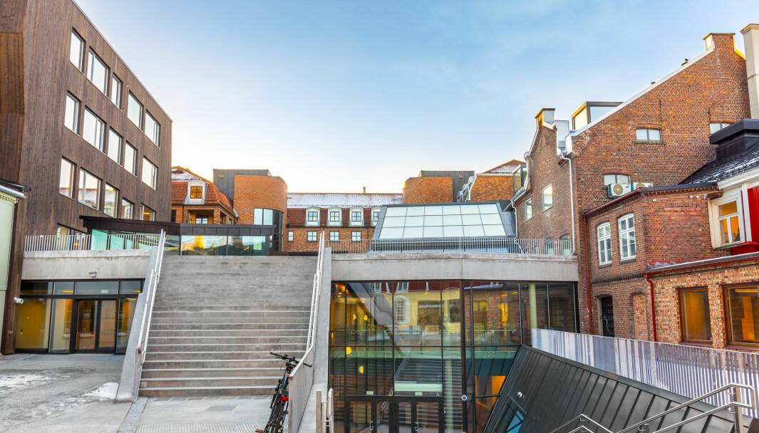 Lysholmbygget: På Kalvskinnet i Trondheim finner vi Norges største lærerutdanning..