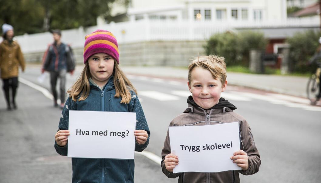 Søskenparet Silje og Jonas Aalberg ville også ha et ord med i laget.