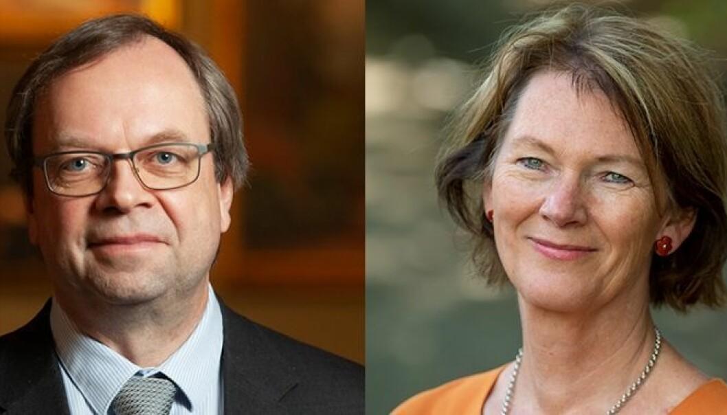 Valget står mellom Kenneth Ruud og Lise Øvreås