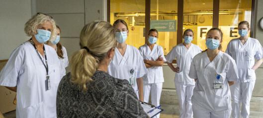 De stiller opp for å vaksinere studenter