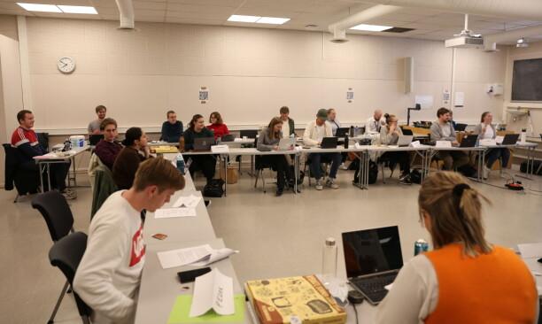 Studenttinget foreslår at det blir gjort opptak av alle forelesninger