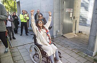 «Walk of shame» på Gløs viste mangelen på universell utforming