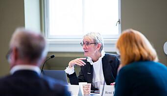 NTNU-rektor Anne Borg. Her fra styremøtet i september.