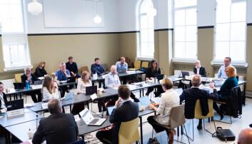 Styret var samlet fysisk i møtet 16. september.