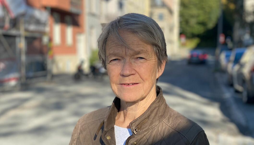 Siri Forsmo har bodd i samme bygård siden 1996. Hun har bevitnet hyblifiseringen langs Elgeseter gate på nært hold.