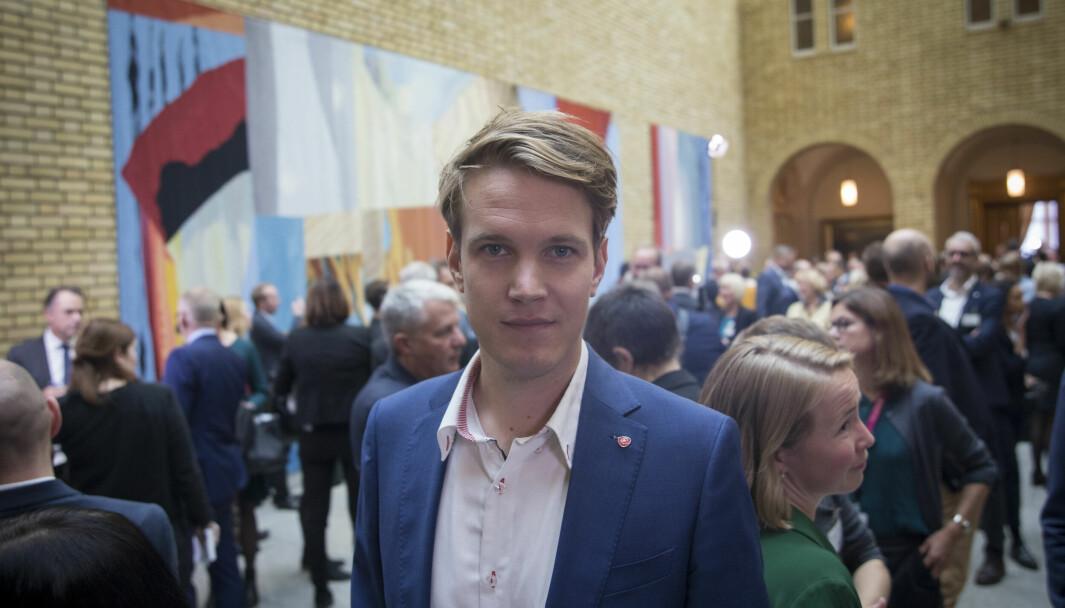 Torstein Tvedt Solberg er Arbeiderpartiets utdanningspolitiske talsperson.