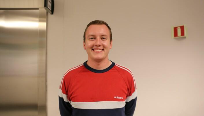 Leder for Studenttinget, Andreas Knudsen Sund er glad rektor tar studentene i forsvar.