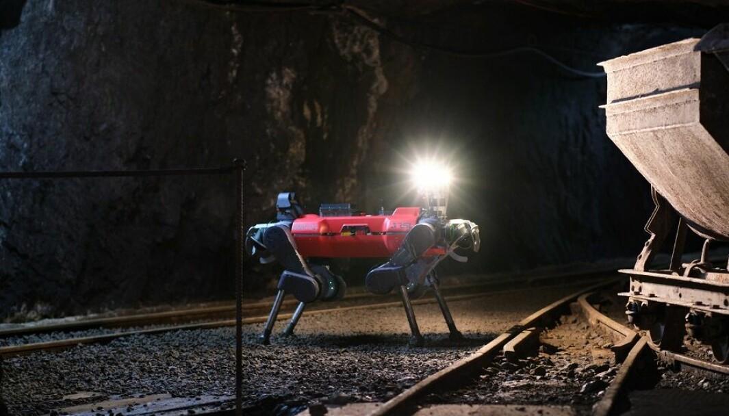 Flere roboter ble brukt i konkurransen av Team Cerberus. Denne er utviklet ved ETH Zurich og bidro til seieren.