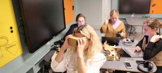 Utvikler VR som alternativ læringsmetode i en rekke fag